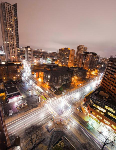Toronto at night. 8 April, 2014.