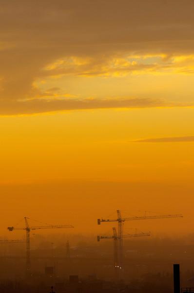 This morning at sunrise, 11 November, 2012, Toronto....