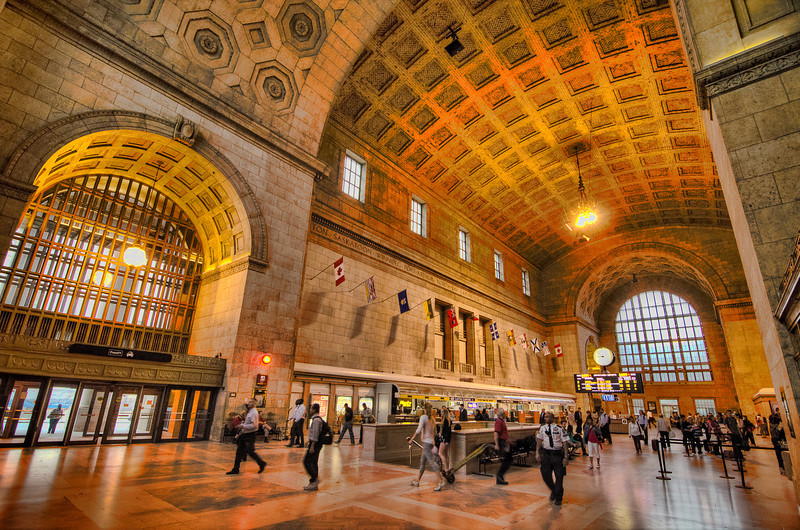 Union Station, Toronto. 27 June 2012.