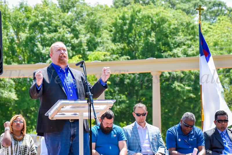National Day of Prayer - Greenville Street Park