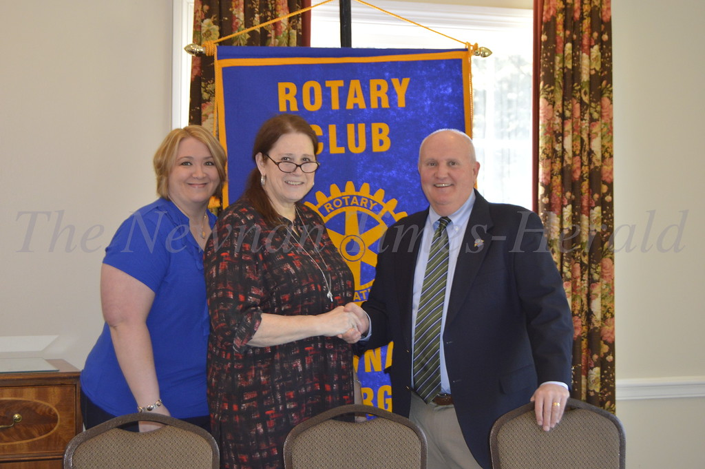 Suicide Prevention Action Network of Georgia meets with Newnan Rotary Club