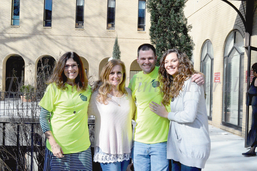 Members of the Coweta Recovery Community Organization attended Thursday's Addiction Recovery Awareness Day at the state capitol. Left to right are: Christine Kendall, Theresa Mulvenna, Hank Arnold and Shelly Muller.