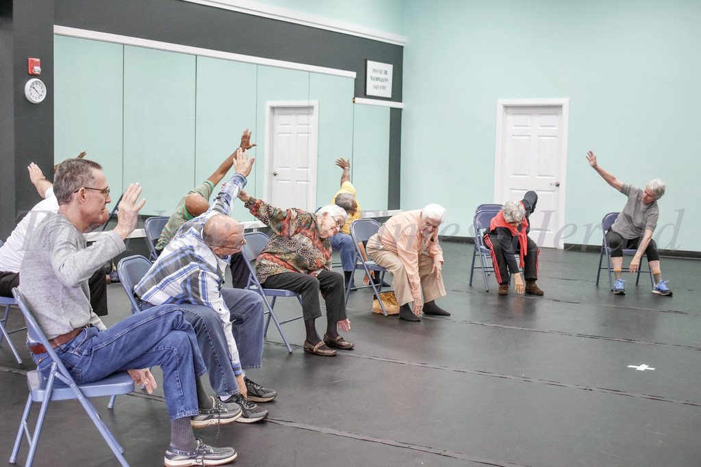 At Southern Arc Dance Center, Paulo Manso de Sousa teaches a dance classes for  people suffering with  Parkinson's.