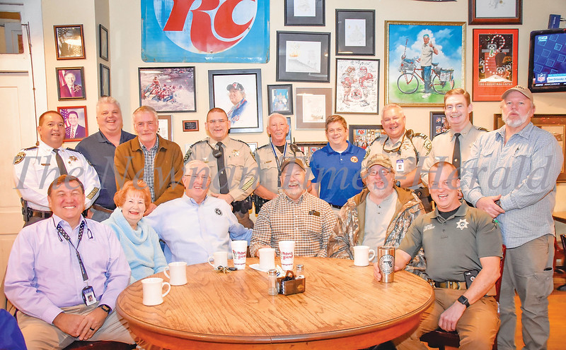 Sheriff Yeager's Retirement
