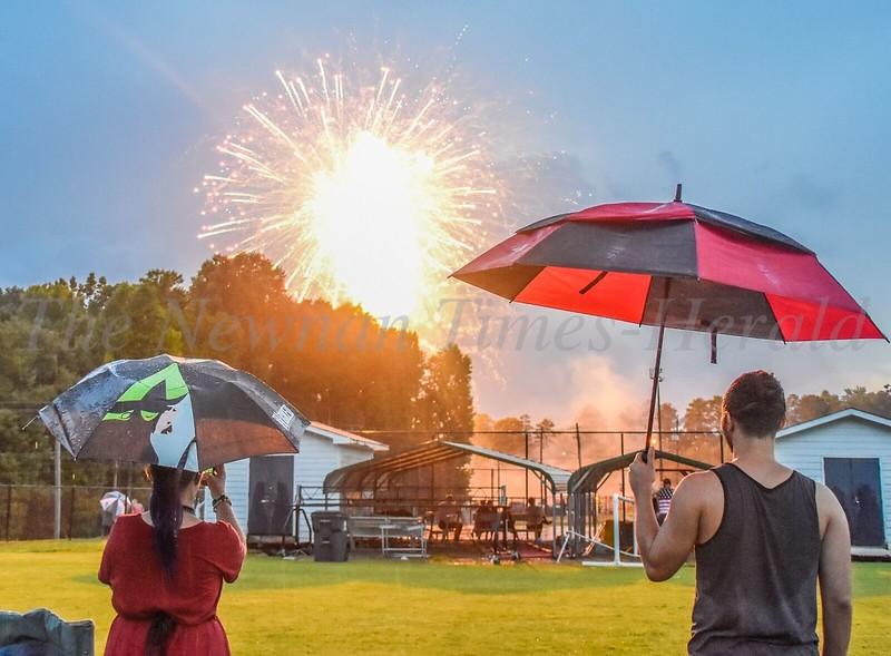 July  4th Fireworks at Newnan High School