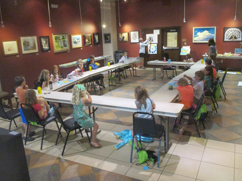 Summer Art Camp at Nixon Centre