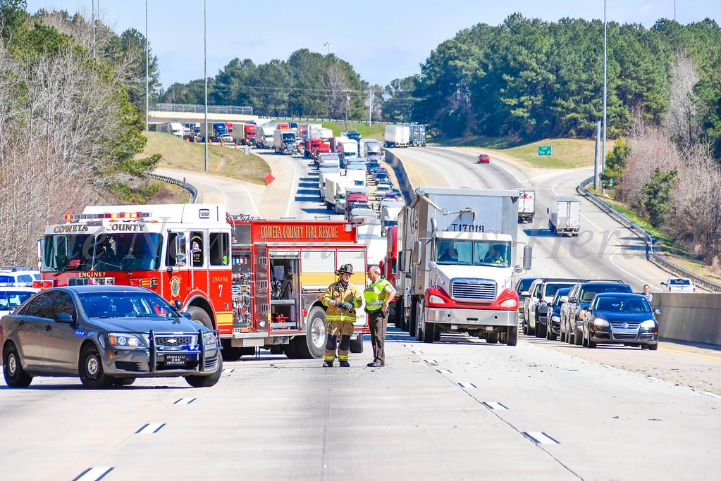 I-85 Shutdown