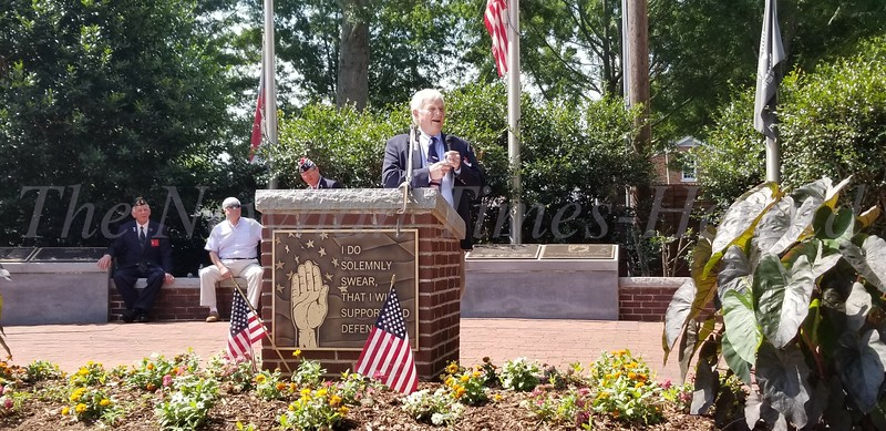 Memorial Day Program at Coweta County Veterans Plaza