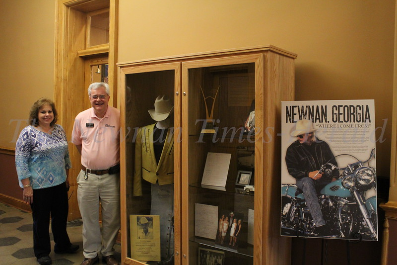 Alan Jackson Memorabilia At  Coweta County Visitor's Center