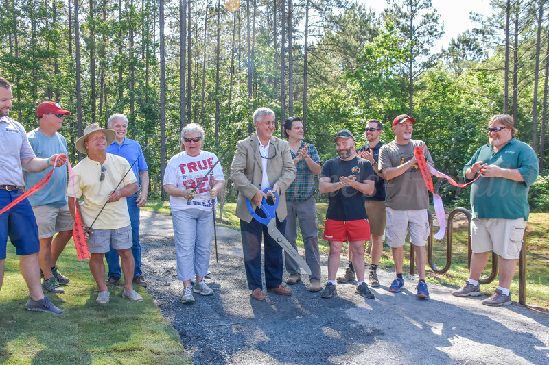 Opening Of Bike Path At Brown's Mill Battlefield