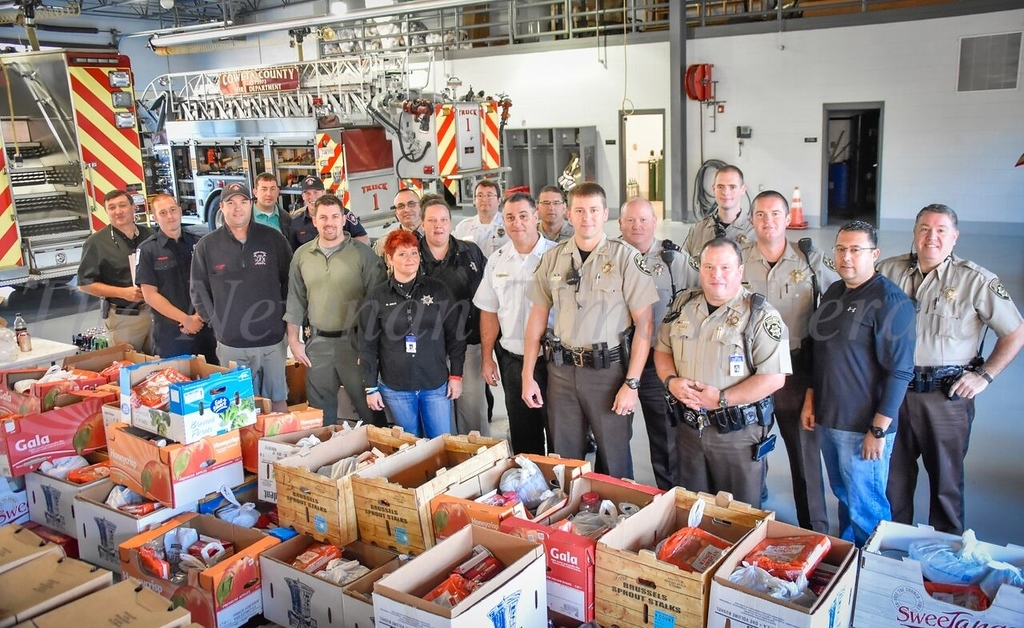 Thanksgiving meal distribution - Public Safety