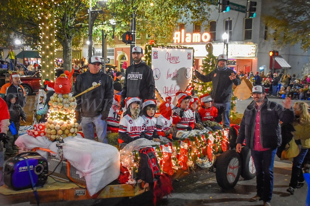 Christmas Parade - downtown Newnan