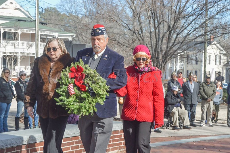 Wreaths Across America - downtown Newnan