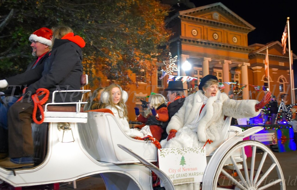 Christmas Parade - downtown Newnan