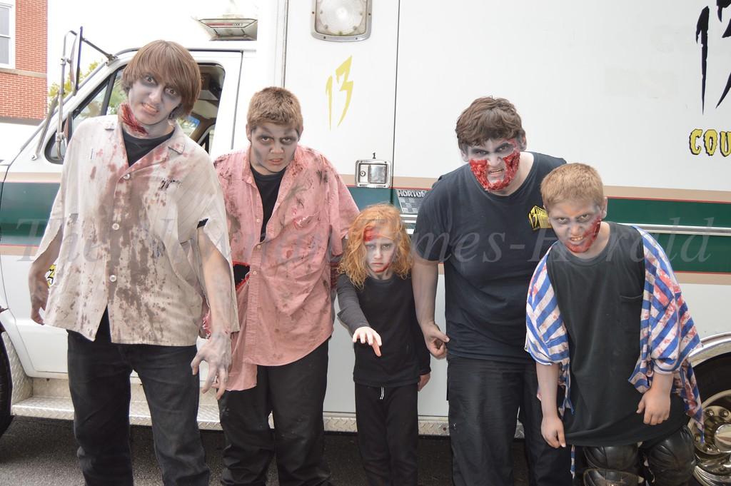 Zombie  &  Super Hero Day