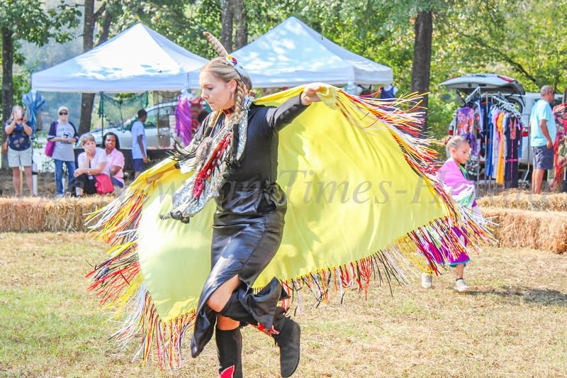 McIntosh Reserve Fall Festival  - Native American dance