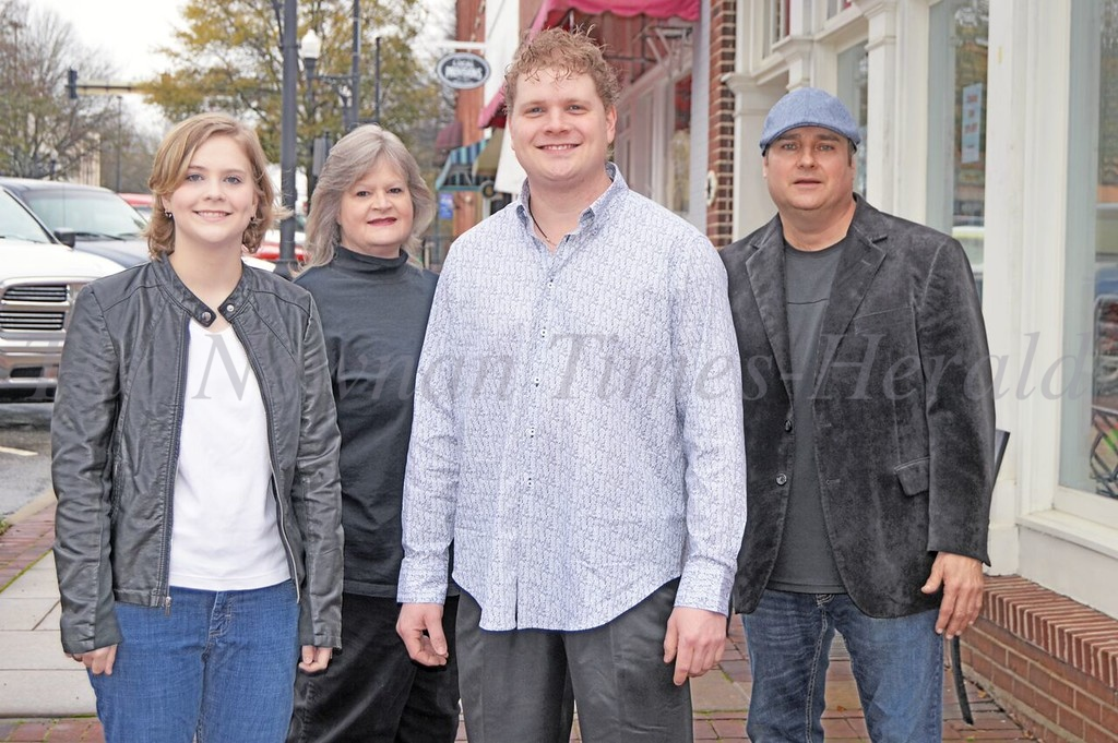 "The Kiser Band, left to right: Melody Kiser, singer/song writer and guitar player; Aundie Kiser, keyboards;  Christian Kiser, singer and guitar player and  Gary Herbert, drummer. The band will be performing on the ""Melissa Etheridge Cruise"", alongside the famous singer, plus musical artist Sarah McLachlan."