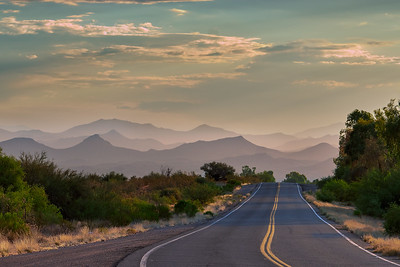 Mountain Haze - Wickenburg Mtns