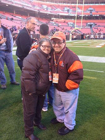 Browns/Ravens Game 11/3/13