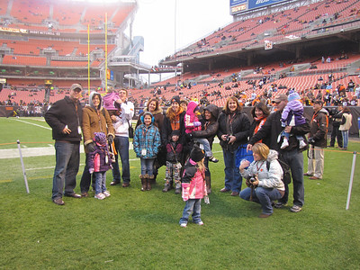 Browns/Steelers game 1/1/12