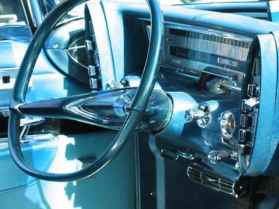 1961 Imperial LeBaron (interior)