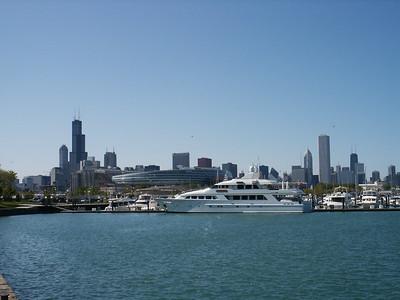 Skyline, Stadium and Yacht