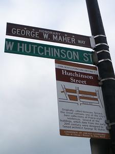 Honorary George W. Maher Way/ W. Hutchinson Street