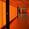 Orange hallway