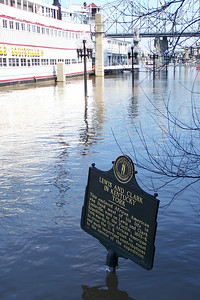 Nice of the state to provide this historical marker for any passing boaters.