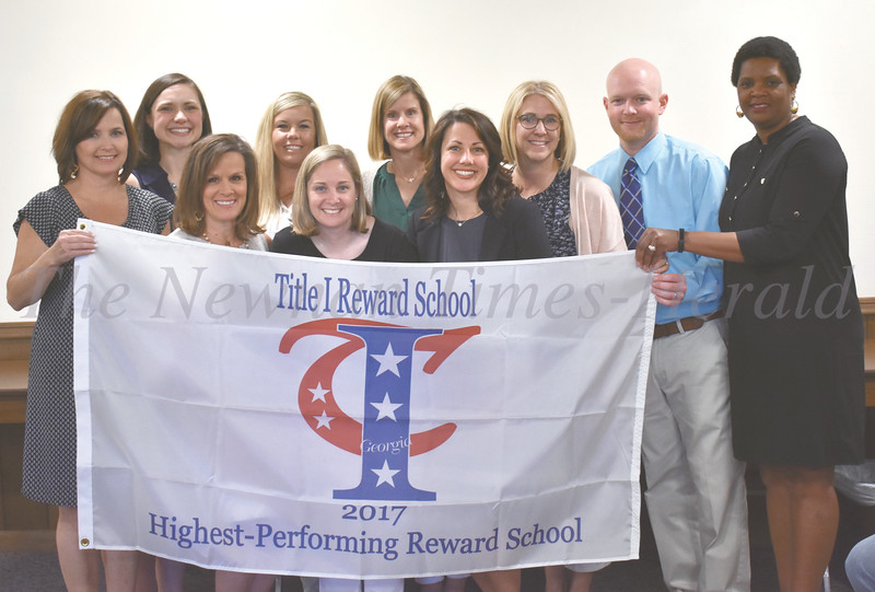 Title I Reward School - White Oaks Elementary