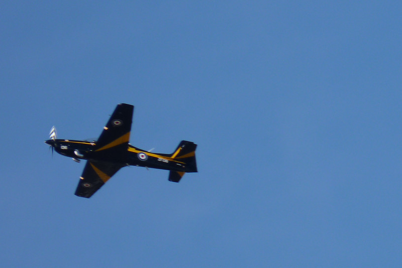 We arrive at Thunder Over Louisville in the early evening, with plenty of air-show excitement left to see.