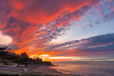 North Beach Port Townsend Sunset