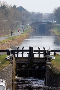Locks on the Grand Canal, Tullamore