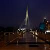 Esplanade Riel at night