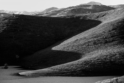 San Luis Reservoir: Shadow and Light