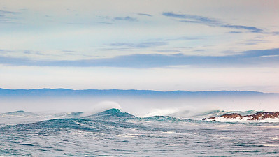 Winter swell at 17 Mile Drive, Pebble Beach