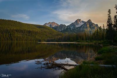 Stanley Lake, McGown Peak, Idaho