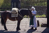 Pack Horse and Handler