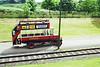Replica London General Omnibus Company B-type open top bus