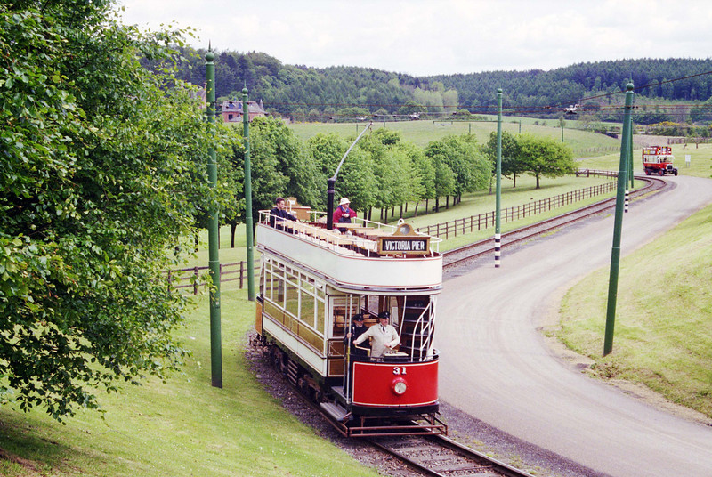 Beamish Tramway - Blackpool No. 31 tram.