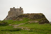 The castle seen from atop the limekilns