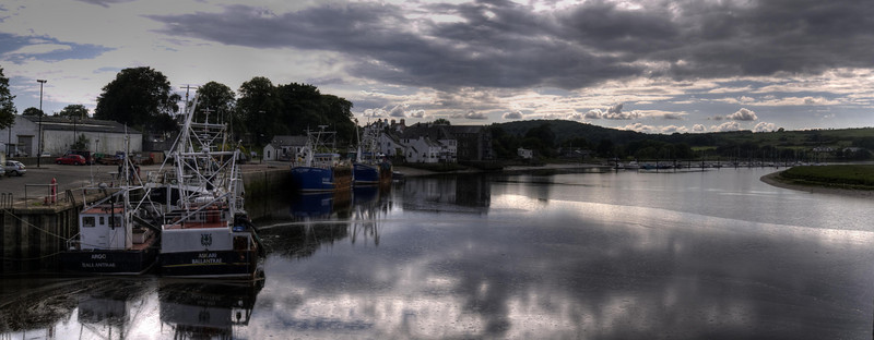 Kirkcudbright Harbour and River Dee