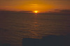 Sunset over the Minch, photographed from Rubha Reidh Lighthouse