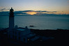 Rua Reidh Lighthouse at sunset