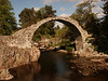 The Old Bridge over the River Dulnain, Carrbridge.<br /> <br /> Built 1717 by Brigadier-General Sir Alexander Grant of Grant.