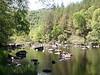 Rogie Falls upper lake.