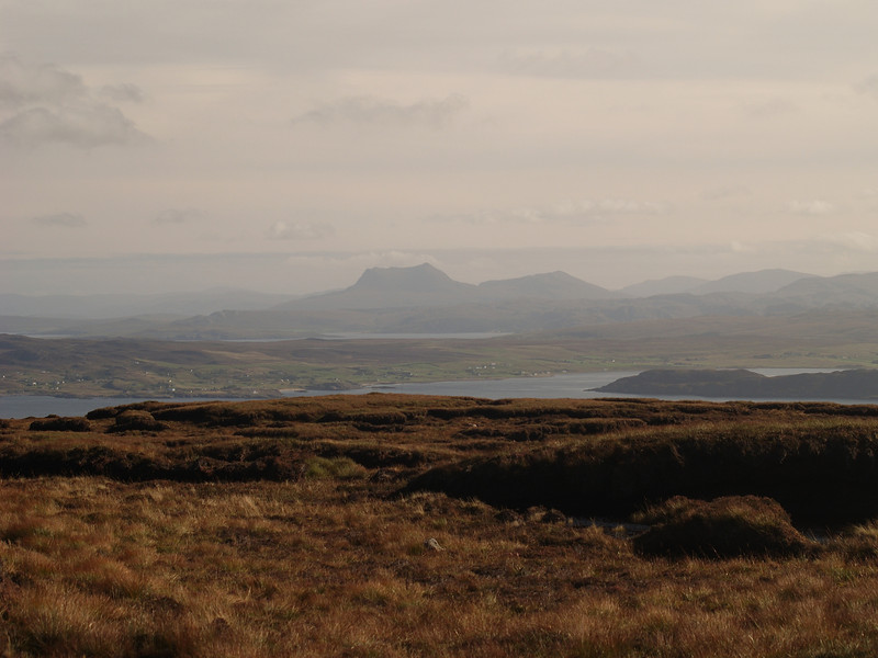 View to the north from An Cuaidh, Melvaig, Gairloch