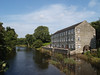 Gatehouse of Fleet Mill and the River Fleet