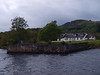 The old railway terminus and paddle steamer pier, Loch Ness, Fort Augustus.