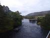 Suspension bridge over the River Oich.